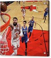Philadelphia 76ers V Chicago Bulls Acrylic Print