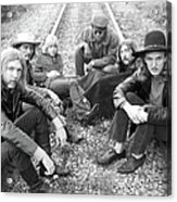 Photo Of Allman Brothers Acrylic Print