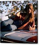 Photo Of Stevie Nicks And Fleetwood Mac Acrylic Print