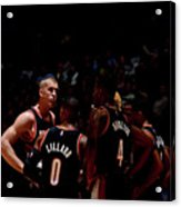 Portland Trail Blazers V Denver Nuggets Acrylic Print