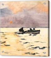 Rowing Home  Acrylic Print