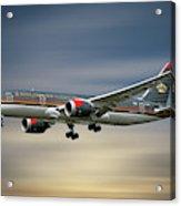 Royal Jordanian Boeing 787-8 Dreamliner Acrylic Print