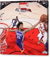 Sacramento Kings V Portland Trail Acrylic Print