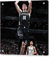 San Antonio Spurs V Brooklyn Nets Acrylic Print