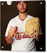 St. Louis Cardinals Photo Day Acrylic Print