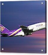 Thai Airways Airbus A380-841 Acrylic Print
