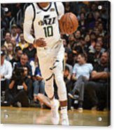 Utah Jazz V Los Angeles Lakers Acrylic Print