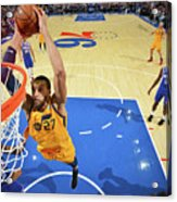 Utah Jazz V Philadelphia 76ers Acrylic Print