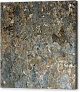 Weathered Stone Wall Acrylic Print