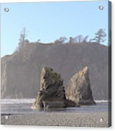 Ruby Beach Sunshine Acrylic Print