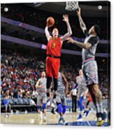 Atlanta Hawks V Philadelphia 76ers Acrylic Print
