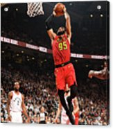Atlanta Hawks V Toronto Raptors Acrylic Print