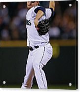 Boston Red Sox V Seattle Mariners Acrylic Print