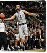 Charlotte Hornets V San Antonio Spurs Acrylic Print