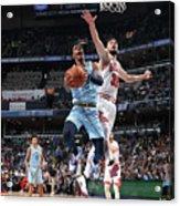Chicago Bulls V Memphis Grizzlies Acrylic Print