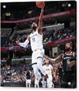 Detroit Pistons V Memphis Grizzlies Acrylic Print