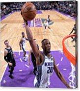 Detroit Pistons V Sacramento Kings Acrylic Print