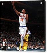 Indiana Pacers V New York Knicks Acrylic Print