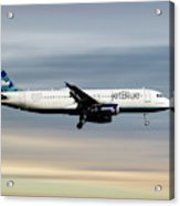 Jetblue Airways Airbus A320-232 Acrylic Print