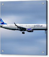 Jetblue Airways Embraer Erj-190ar Acrylic Print