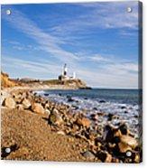 Lighthouse At Montauk Point, Long Acrylic Print