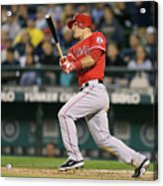 Los Angeles Angels Of Anaheim V Seattle 5 Acrylic Print