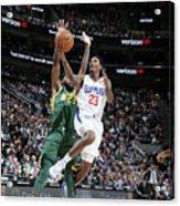 Los Angeles Clippers V Utah Jazz Acrylic Print