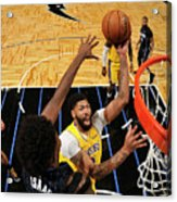 Los Angeles Lakers V Orlando Magic Acrylic Print