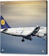 Lufthansa Airbus A319-114 Acrylic Print