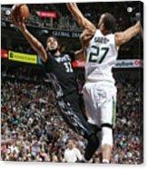 Minnesota Timberwolves V Utah Jazz Acrylic Print