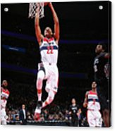 Minnesota Timberwolves V Washington Acrylic Print
