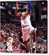New York Knicks V Houston Rockets Acrylic Print