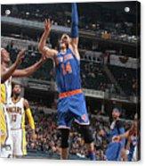 New York Knicks V Indiana Pacers Acrylic Print