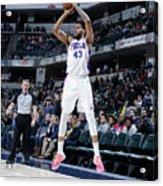 Philadelphia 76ers V Indiana Pacers Acrylic Print