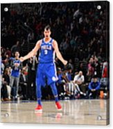 Philadelphia 76ers V New York Knicks Acrylic Print