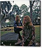 Photo Of Allman Brothers Acrylic Print