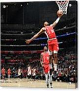 Portland Trail Blazers V La Clippers Acrylic Print