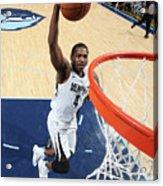 Sacramento Kings V Memphis Grizzlies Acrylic Print