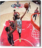 San Antonio Spurs V Washington Wizards Acrylic Print