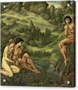 The Garden Of Pan Acrylic Print