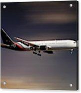 Titan Airways Boeing 767-36n Acrylic Print