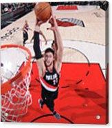 Toronto Raptors V Portland Trail Blazers Acrylic Print
