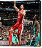 Washington Wizards V Charlotte Hornets Acrylic Print