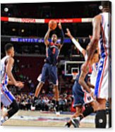 Washington Wizards V Philadelphia 76ers Acrylic Print
