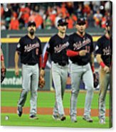 World Series - Washington Nationals V Acrylic Print
