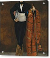Young Man In The Costume Of A Majo  Acrylic Print