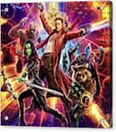 Guardians Of The Galaxy Acrylic Print