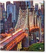 59th Street Bridge Acrylic Print
