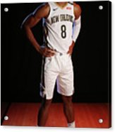 2018-19 New Orleans Pelicans Media Day Acrylic Print