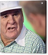 Baseball Legend Pete Rose Visits Stuart Acrylic Print